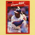 1990 Donruss Baseball #226 Devon White - California Angels