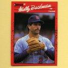 1990 Donruss Baseball #155 Wally Backman - Minnesota Twins