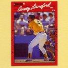 1990 Donruss Baseball #095 Carney Lansford - Oakland A's