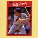 1990 Donruss Baseball #094 Wally Joyner - California Angels