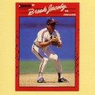 1990 Donruss Baseball #083 Brook Jacoby - Cleveland Indians