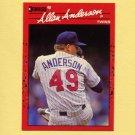 1990 Donruss Baseball #064 Allan Anderson - Minnesota Twins