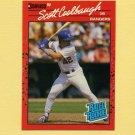 1990 Donruss Baseball #043 Scott Coolbaugh RC - Texas Rangers
