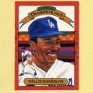 1990 Donruss Baseball #019 Willie Randolph DK - Los Angeles Dodgers