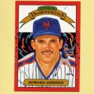 1990 Donruss Baseball #018 Howard Johnson DK - New York Mets
