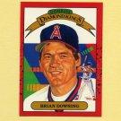 1990 Donruss Baseball #010B Brian Downing DK - California Angels COR