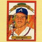 1990 Donruss Baseball #008 John Smoltz DK - Atlanta Braves