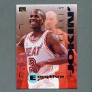 1994-95 Emotion Basketball #050 Khalid Reeves RC - Miami Heat