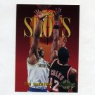 1994-95 Skybox Premium Basketball #317 Tim Hardaway SSH - Golden State Warriors