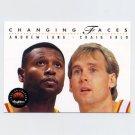 1993-94 SkyBox Premium Basketball #292 Andrew Lang / Craig Ehlo - Atlanta Hawks