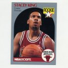 1990-91 Hoops Basketball #066 Stacey King RC - Chicago Bulls