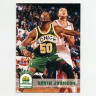 1993-94 Hoops Basketball #409 Ervin Johnson RC - Seattle Supersonics