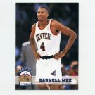 1993-94 Hoops Basketball #327 Darnell Mee RC - Denver Nuggets