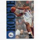 1994-95 Hoops Basketball #359 B.J. Tyler RC - Philadelphia 76ers