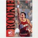 1994-95 Hoops Basketball #301 Sergei Bazarevich RC - Atlanta Hawks