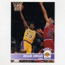 1994-95 Hoops Basketball #101 Reggie Jordan - Los Angeles Lakers