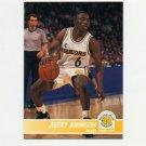 1994-95 Hoops Basketball #066 Avery Johnson - Golden State Warriors
