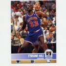 1994-95 Hoops Basketball #034 Tyrone Hill - Cleveland Cavaliers