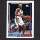 1992-93 Topps Basketball #325 Mark Jackson - Los Angeles Clippers