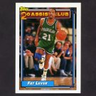 1992-93 Topps Basketball #221 Fat Lever 20A - Dallas Mavericks