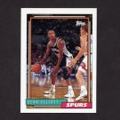 1992-93 Topps Basketball #010 Sean Elliott - San Antonio Spurs