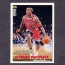 1995-96 Collector's Choice Basketball #019 B.J. Armstrong - Chicago Bulls