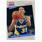 1993-94 Upper Deck Basketball #195 Reggie Miller - Indiana Pacers
