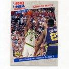 1993-94 Upper Deck Basketball #185 1st Round - Seattle Supersonics