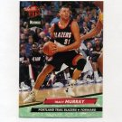 1992-93 Ultra Basketball #345 Tracy Murray - Portland Trail Blazers