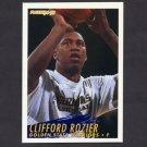 1994-95 Fleer Basketball #289 Clifford Rozier RC - Golden State Warriors