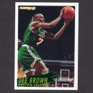 1994-95 Fleer Basketball #010 Dee Brown - Boston Celtics