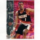 1995-96 Fleer Basketball #156 Rod Strickland - Portland Trail Blazers