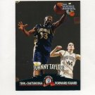 1997 Score Board Rookies Basketball #049 Johnny Taylor - Univ. of Tenn. at Chattanooga / Magic