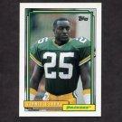 1992 Topps Football #347 Vinnie Clark - Green Bay Packers