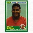 1989 Score Football #253 Tracy Rocker RC - Washington Redskins