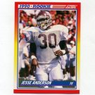 1990 Score Football #633 Jesse Anderson RC - Tampa Bay Buccaneers