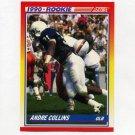 1990 Score Football #630 Andre Collins RC - Washington Redskins