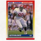 1990 Score Football #622 Keith McCants RC - Tampa Bay Buccaneers