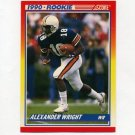 1990 Score Football #621 Alexander Wright RC - Dallas Cowboys