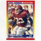1990 Score Football #620 Aaron Wallace RC - Los Angeles Raiders
