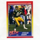 1990 Score Football #589 Sterling Sharpe AP - Green Bay Packers