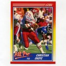 1990 Score Football #581 Christian Okoye AP - Kansas City Chiefs