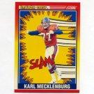 1990 Score Football #551 Karl Mecklenburg CC - Denver Broncos