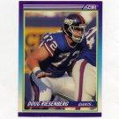 1990 Score Football #542 Doug Riesenberg RC - New York Giants