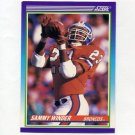 1990 Score Football #540 Sammy Winder - Denver Broncos