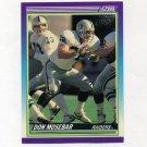 1990 Score Football #530 Don Mosebar - Los Angeles Raiders