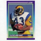 1990 Score Football #508 Cleveland Gary - Los Angeles Rams