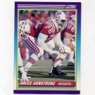 1990 Score Football #485 Bruce Armstrong - New England Patriots