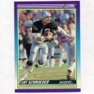1990 Score Football #475 Jay Schroeder - Los Angeles Raiders