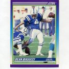 1990 Score Football #470 Dean Biasucci - Indianapolis Colts
